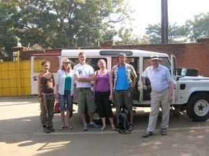 ZSL funded Team Cichlid ready to roll out into the Malawian countryside 2009
